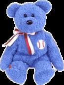 ADDISON TY Baseball Beanie Baby Bear (CUBS)