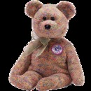 SPECKLES Beanie Baby Bear -Retired Ty Store Exclusive e-Beanie