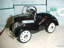 1937 Garton Ford Luxury Edition Hallmark Kiddie Car Classics Pedal Car