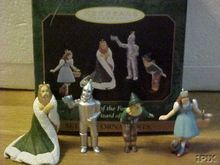 Wizard of Oz *King of the Forest* set of 4 Hallmark Ornaments