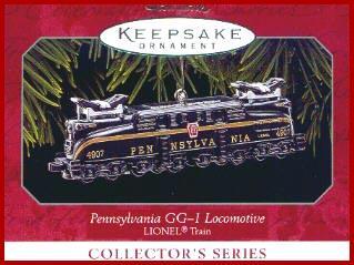 Lionel Pennsylvania GG-1Locomotive Hallmark 1998 Ornament