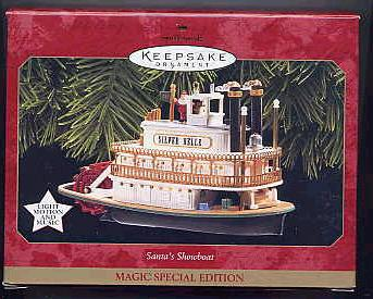 Santa*s Showboat MAGIC Hallmark Ornament
