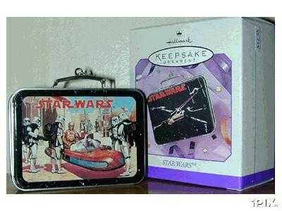 Star Wars Lunch Box Hallmark Ornament 1998 Lunchbox