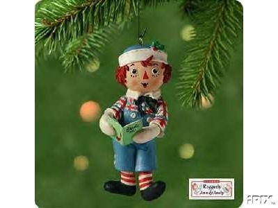 Raggedy Andy Hallmark 2001 ornament