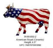 American Royal Cow Parade Ceramic Figurine