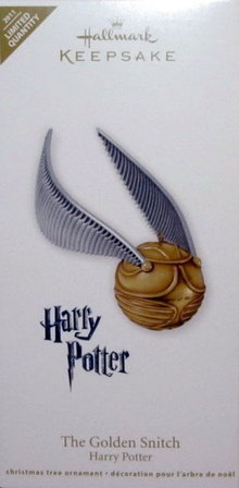 Hallmark 2011 Harry Potter GOLDEN SNITCH -Limited- Christmas Ornament