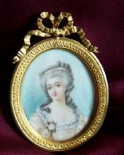 Miniature Painting of Great Lady