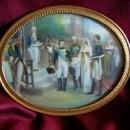 Miniature Painting of Napoleon Bonaparte's Wedding on Ivory