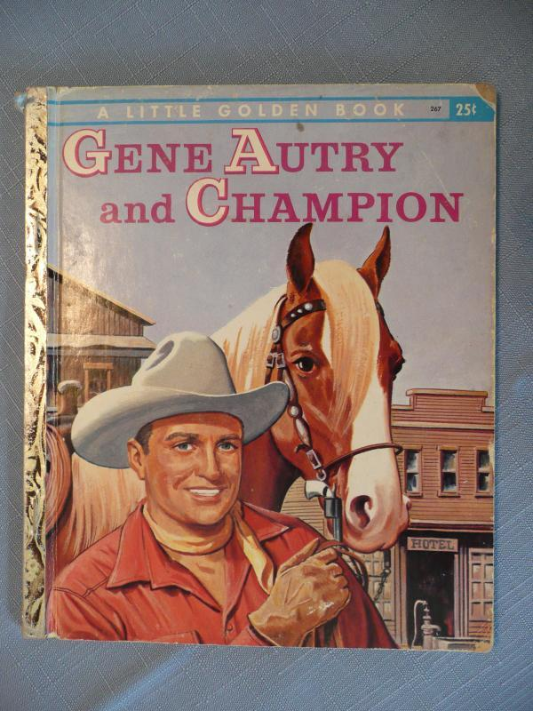 Gene Autry and Champion Little Golden Books