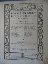 Boys' and Girls' Bookshelf Set of Three Volumes--1912