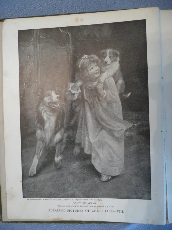 Boys' and Girls' Bookshelf Set of Three Volumes--1912