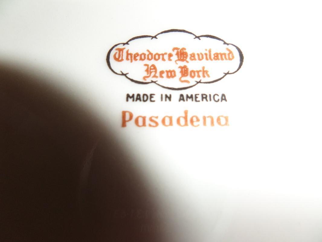 Theodore Haviland New York-Pasadena platter