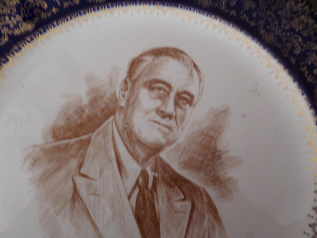 Franklin Rosevelt Collector plate