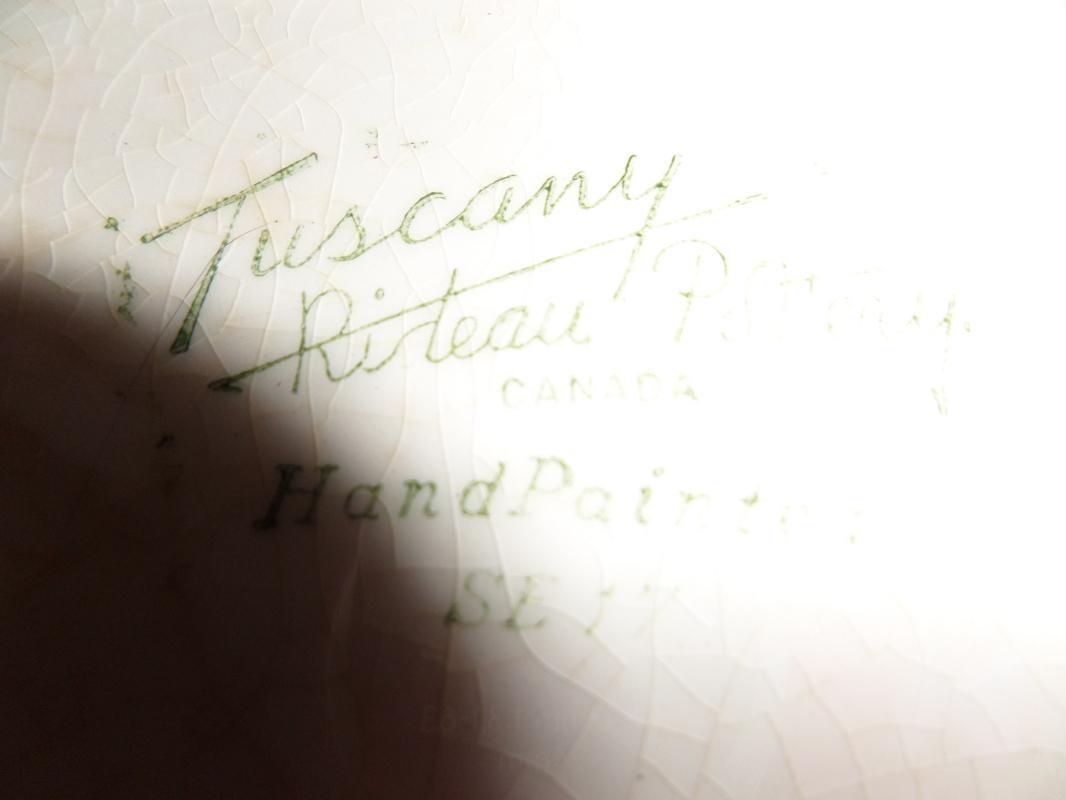 Rieau Pottery Tuscany