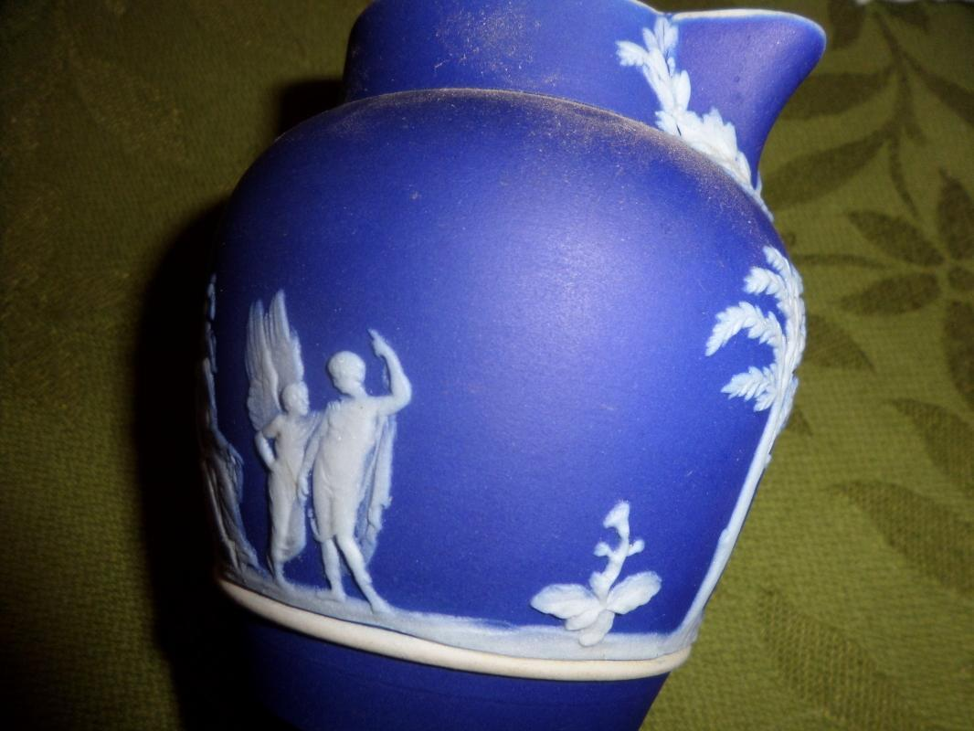 Wedgewood  Jasper ware creamer in Blue