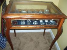 open Salts lrg lot 50 w/ display table