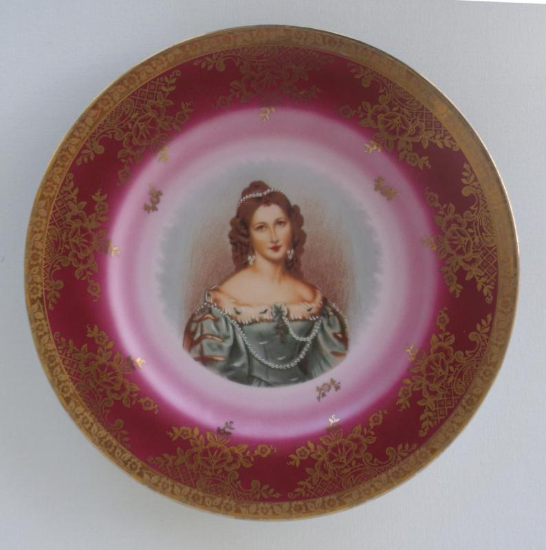 Bayreuth Portait Plate