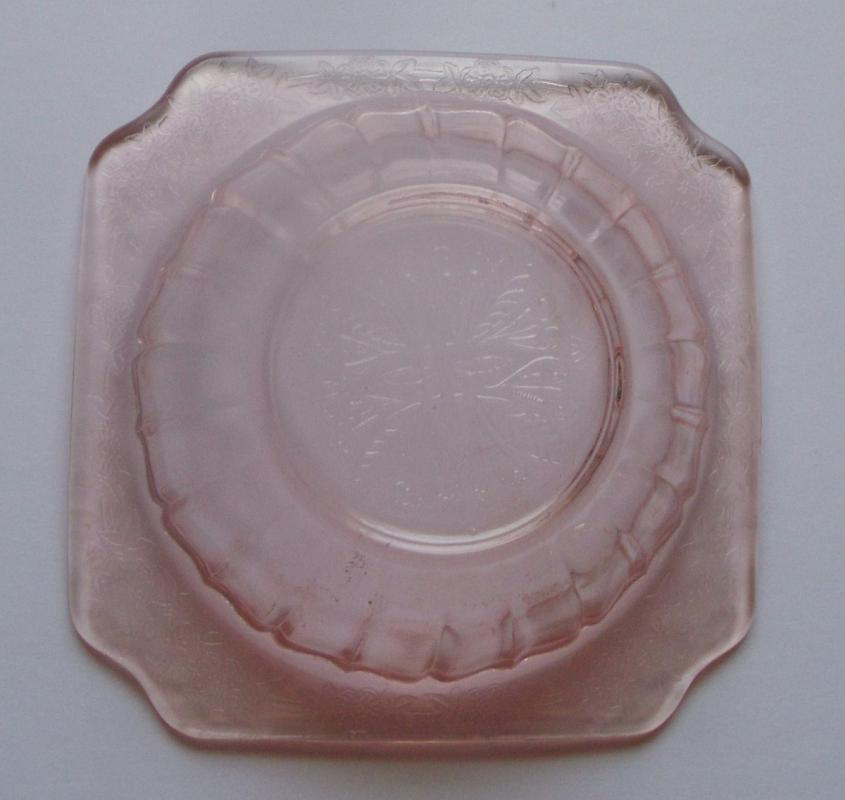 Adam Dessert Bowl - Pink Depression Glass