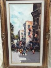Italy painting 16x30