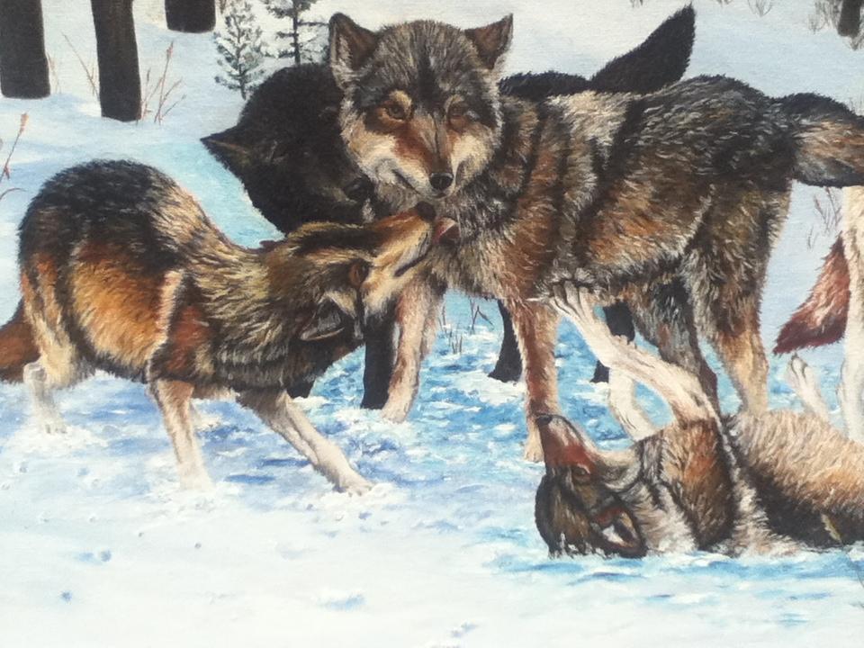wolf paint