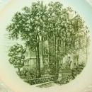 Wedgwood England Russell Sage College Troy N.Y. Gurley Hall Plate