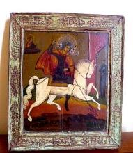 Russian icon, late 18th or early 19th