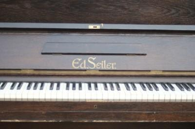 original upright piano German Ed. Seiler