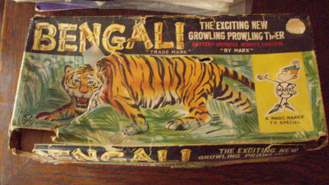 battery powered bengali tiger