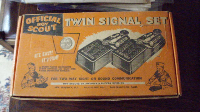 battery powered boyscout signal set