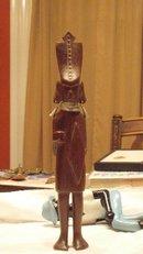 carved native chieftan