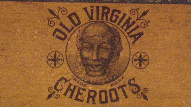 old virginia cheroots cigar box