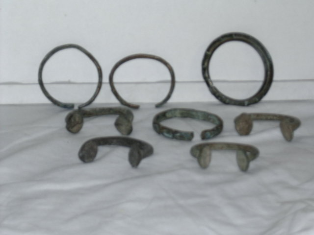 english slave bracelets set of 8