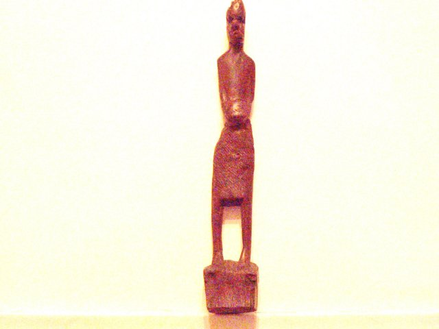carved wooden native