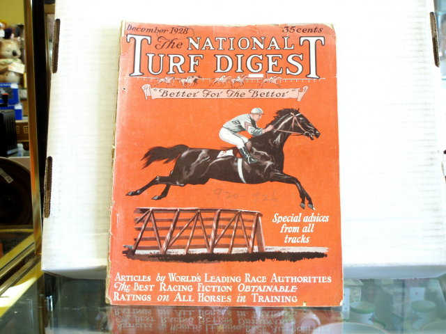 dec 1928 national turf digest