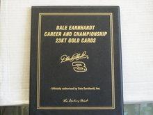 2001 dale earnhardt  sr. career and championship  23kt trading cards