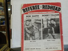 1944 referee and redheads boxing magazine