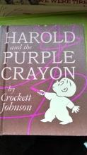 Harold and the Purple Crayon/Rare 1955 first edition