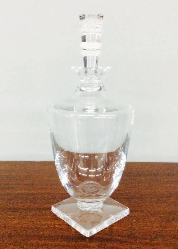 Lalique signed decanter