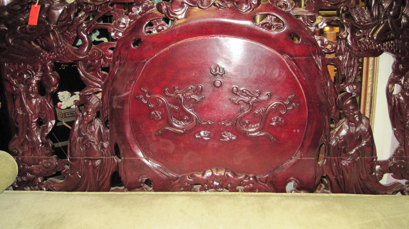 Rosewood Carved Sofa