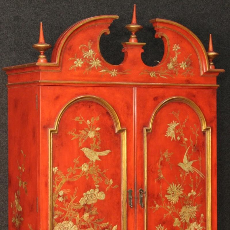 20th Century Spanish Lacquered And Gilt Wet Bar