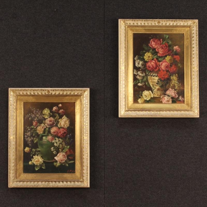 20th Century Pair Of Italian Still Life Paintings