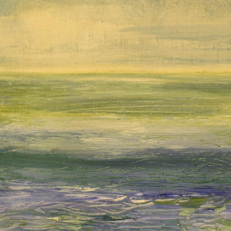 20th Century Impressionist Seascape Painting