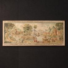 20th Century Italian Neoclassical Landscape Painting