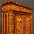 Italian Inlaid Trumeau Desk In Louis XVI Style 20th Century