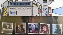 1985 ROYAL MAIL MINT STAMPS SET ~BRITISH FILMS ~UNUSED