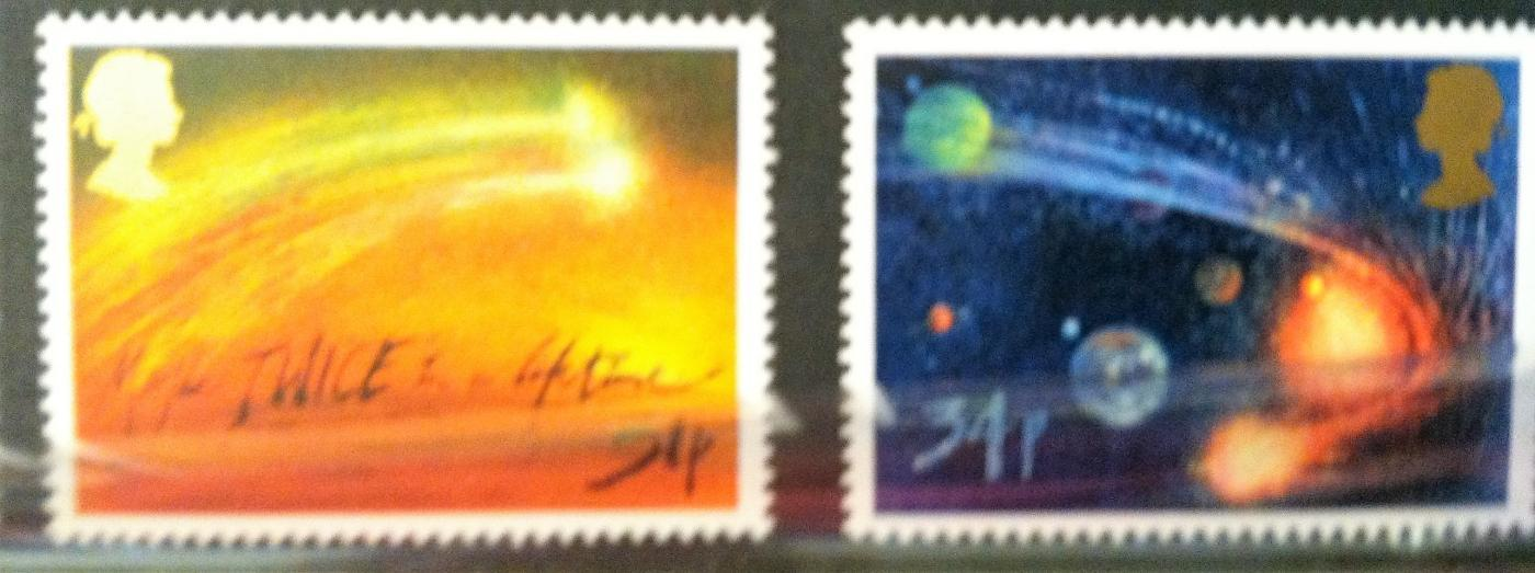 ROYAL MAIL MINT STAMPS SETS ~HALLEY'S COMET~1986~ New ~ Unused