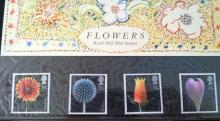 ROYAL MAIL MINT STAMPS SETS ~FLOWERS~1987~ New ~ Unused