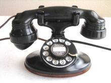WESTERN ELECTRIC 202 E-1 & SUBSET. RESTORED DECO ANTIQUE TELEPHONE EXC. COND