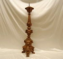 Pair of 18th Century Portuguese Pricket Candle Sticks