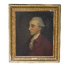 PORTRAIT OF THE 20TH EARL OF KILDARE - BY JOSHUA REYNOLDS